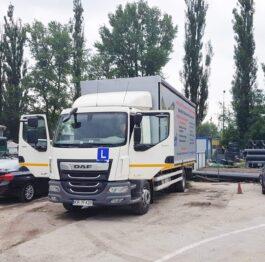 Pojazd szkoleniowy na kategorie C prawa jazdy Kraków