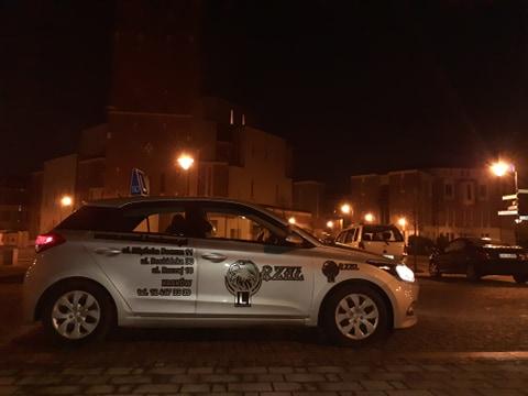 pojazd nauki jazdy Orzeł Kraków